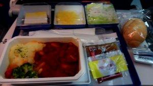 ANA成田~クアラルンプール機内食