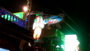 Yoko's Restaurant Latin Barの看板
